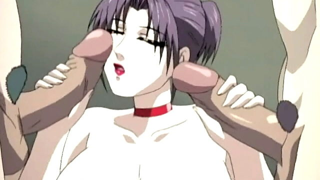 Busty Hentai Chick Takes Two Pricks On The Similar Time