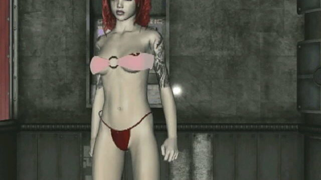 Corrupting Redhead 3d Teen Slut Amanda Teasing Us Together With Her Tattoos And Dancing For You