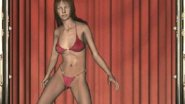 Erotic 3d Teen Slut In Crimson Lingeria Britt Dancing Seductively For You