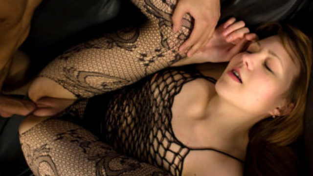 Super-naughty Nubile In Fishnet Porked