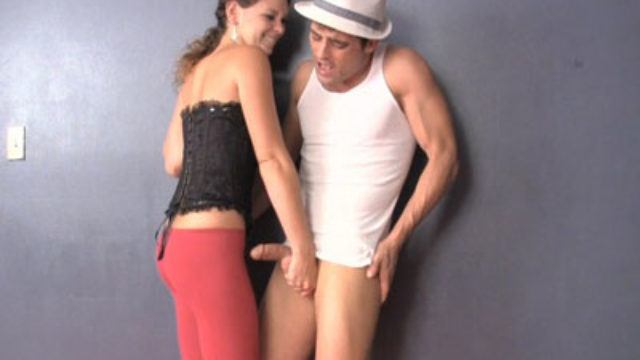 Romantic Night With A Kneeing Balls Domme