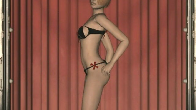 Stimulating Redhead 3d Teen Slut Cindy Dancing Seductively For You