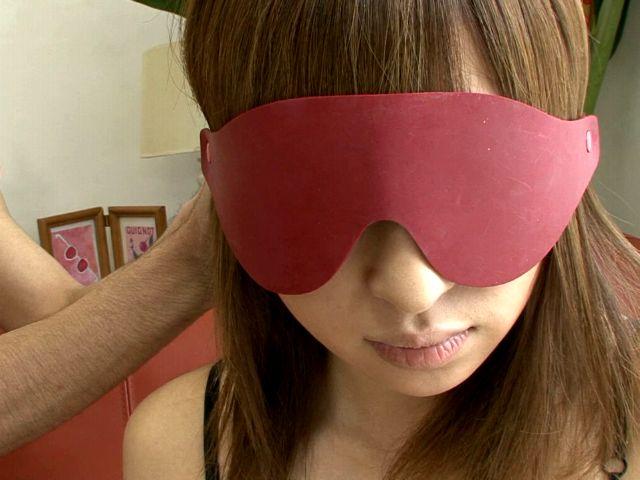 Buxom Japan Chick In Beautiful Underwear Yuu Mizuki Will Get Eye Folded And Taunted