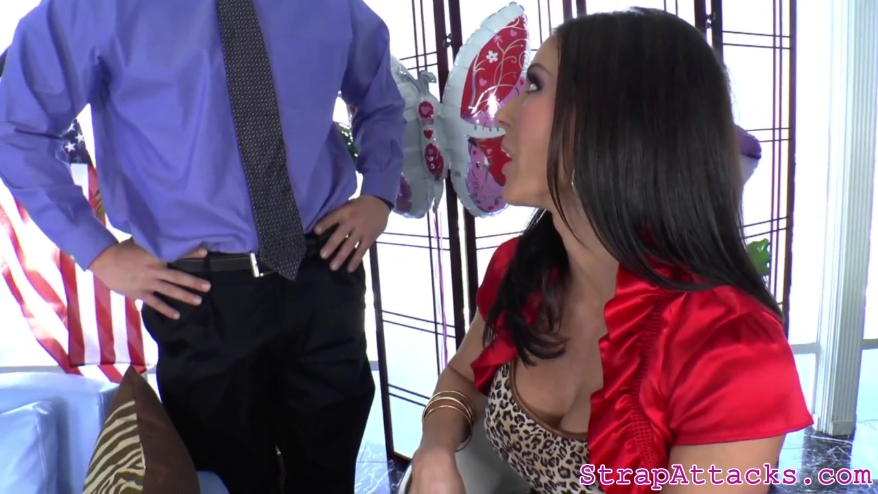 Buxomy Prodomme Dildoing Subs Butt-hole
