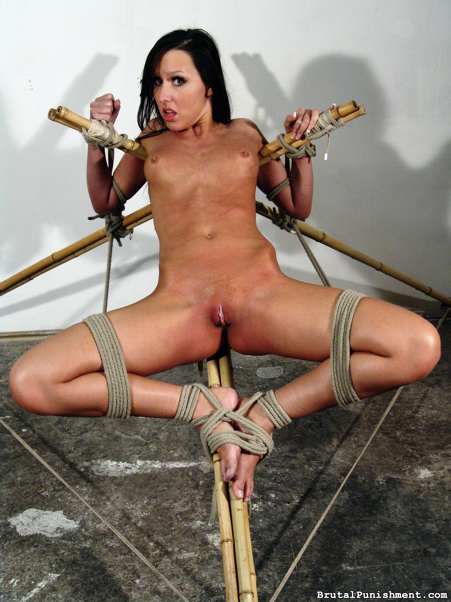 Naughty Agony Breezy Nicole Suffers Any Other Restrain Bondage Consultation