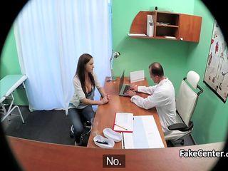 Doc Boinking Super-fucking-hot Schoolgirl Fuckbox In Polyclinic