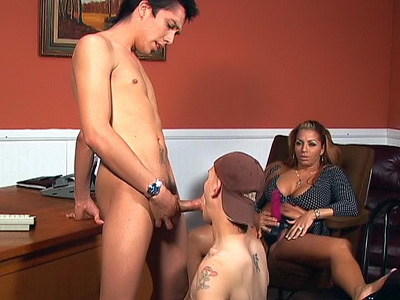 Latina Bi-curious Trio-approach Flick