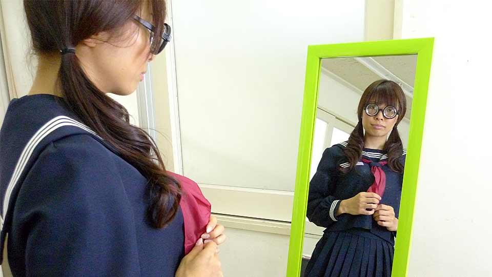 Azusa Misaki In Uniform Nailed At College