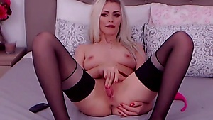 Sizzling Platinum-blonde Needs Your Penis