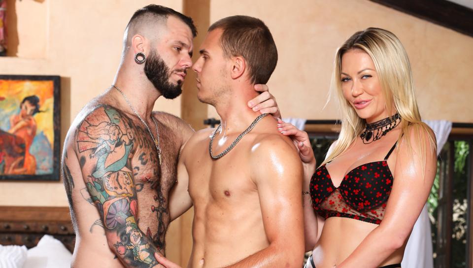 Wanna Poke My Wifey? Gotta Poke Me Too #14 – Adira Attract, Johnny Hill & Tony Bite